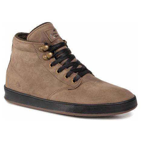 Sneakersy EMERICA - Romero Laced Hi 6102000124 Brown/Gold/Black Emerica.