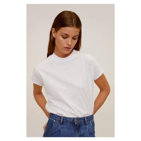 Mango - T-shirt Strass