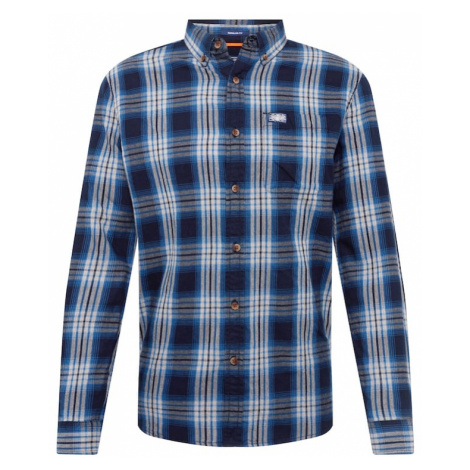 Superdry Koszula 'WORKWEAR' niebieski / biały
