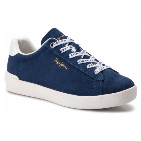 Sneakersy PEPE JEANS - Roland Suede PMS30524 Ocean 588