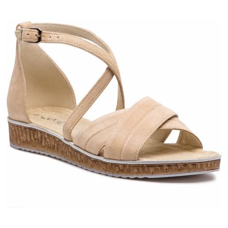 Sandały ANN MEX - 0161 03D Beż