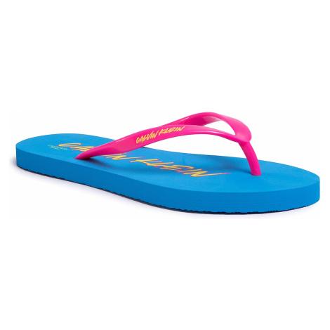 Japonki CALVIN KLEIN SWIMWEAR - FF Sandals KW0KW01027 CEU