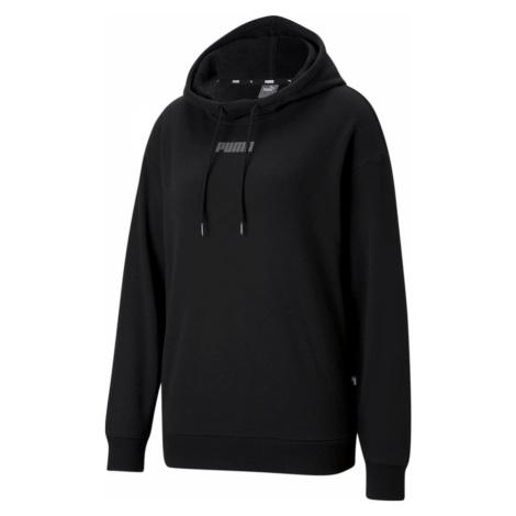 Puma Mikina Modern Basics Bluza z kapturem Tr Black