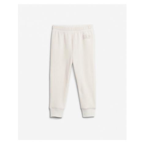 GAP Spodnie dresowe dziecięce Biały
