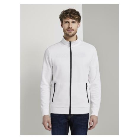 TOM TAILOR Bluza rozpinana biały