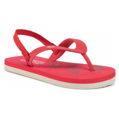 Sandały JACK WOLFSKIN - Eezy K 4038761 S Red/White Sand