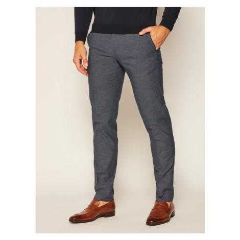 Tommy Hilfiger Tailored Spodnie materiałowe Flex Fks TT0TT07806 Granatowy Slim Fit