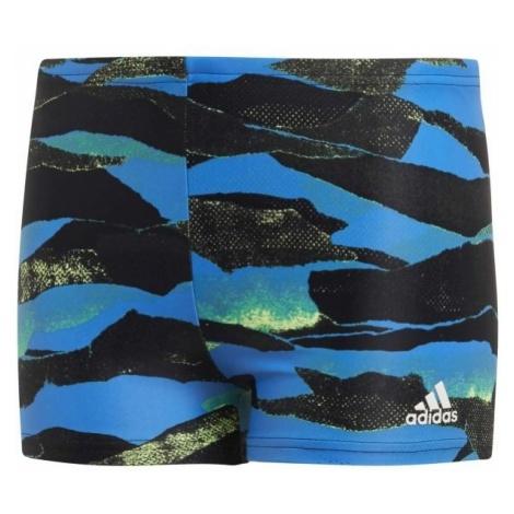 adidas FITNESS GRAPHIC SWIM BOXER BOYS - Kąpielówki sportowe chłopięce