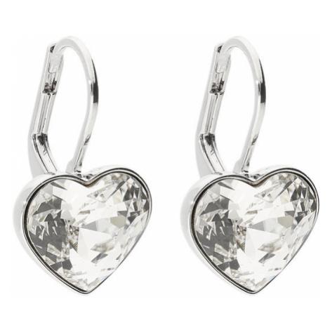 Swarovski Kolczyki Bella Heart 5515191 Srebrny