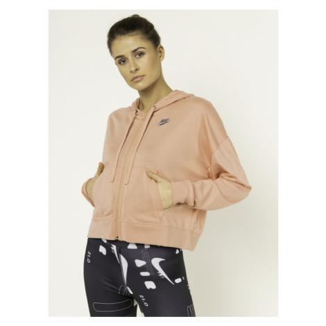 NIKE Bluza Sportswear CD3208 Różowy Standard Fit
