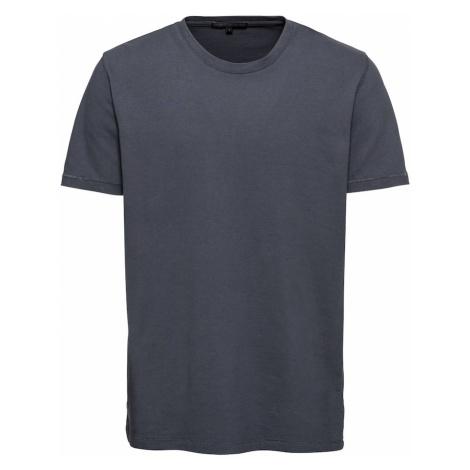 DRYKORN Koszulka 'SAMUEL' podpalany niebieski