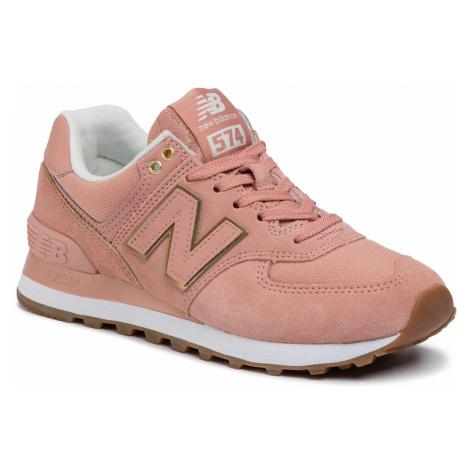 Sneakersy NEW BALANCE - WL574SOB Różowy