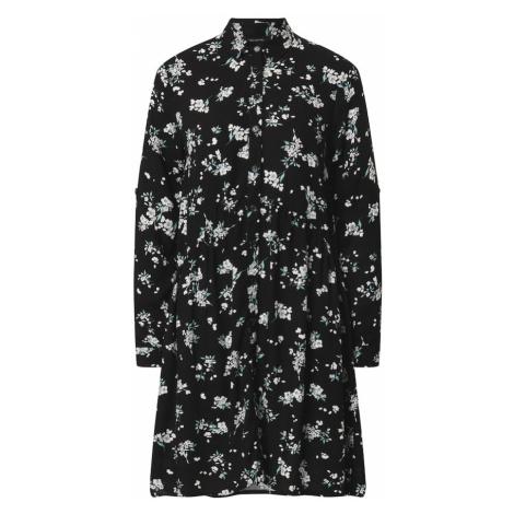Trendyol Sukienka koszulowa czarny / mieszane kolory