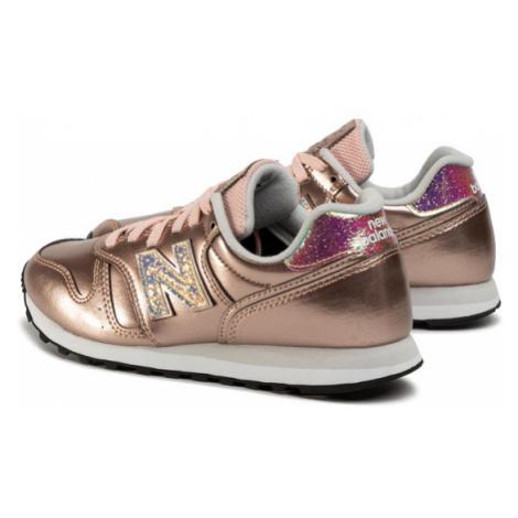 New Balance Sneakersy WL373GA2 Złoty