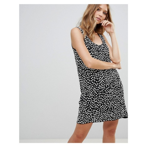French Connection Dorothy Drape Print Shift Dress