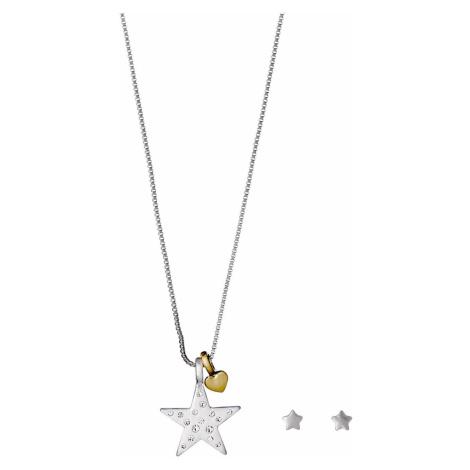 Pilgrim Valentine Zestaw biżuterii Srebrny