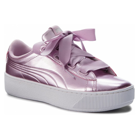 Sneakersy PUMA - Vikky Platform Ribbon P 366419 04 Winsome Orchid/Wi Orchid