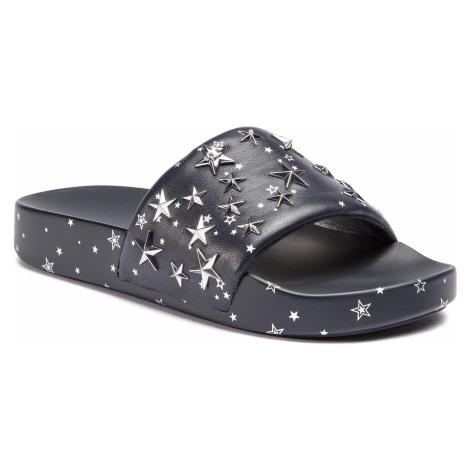 Klapki TORY BURCH - Star Slide 52143 Perfect Navy/Silver 403