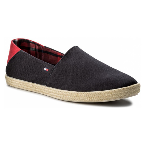 Espadryle TOMMY HILFIGER - Easy Summer Slip On FM0FM00569 Midnight 403