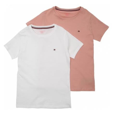 Tommy Hilfiger Underwear Podkoszulka różowy pudrowy / biały