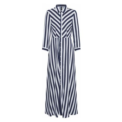 Y.A.S Sukienka koszulowa 'YASSAVANNA' niebieski / biały
