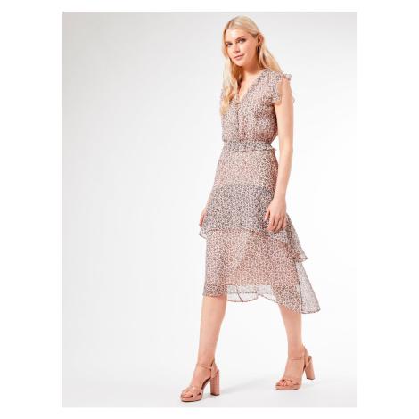 Dorothy Perkins Pink Patterned Dress