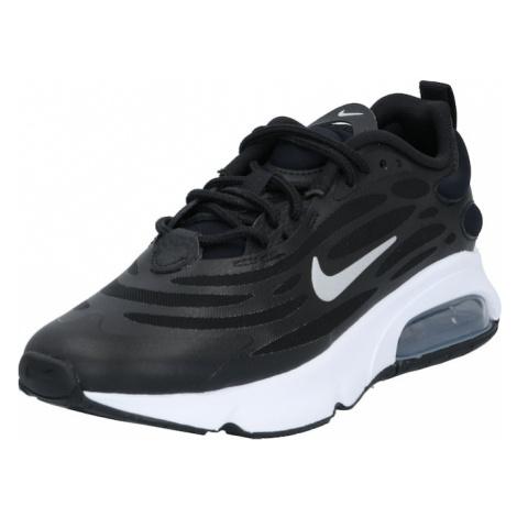 Nike Sportswear Trampki niskie 'Max Exosense' czarny / srebrny