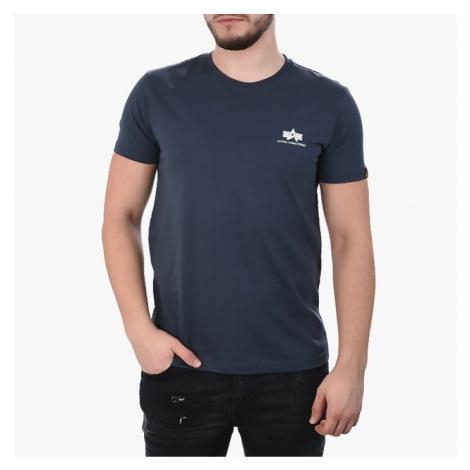 Koszulka męska Alpha Industries Basic Small Logo 188505 02
