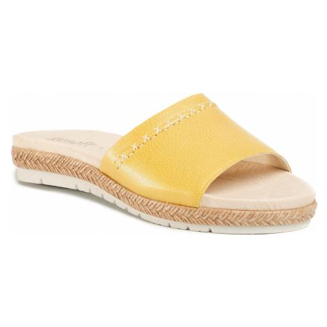 Klapki GO SOFT - WI16-219323 Yellow