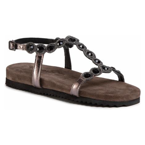 Sandały TAMARIS - 1-28241-24 Pewter Glam 966