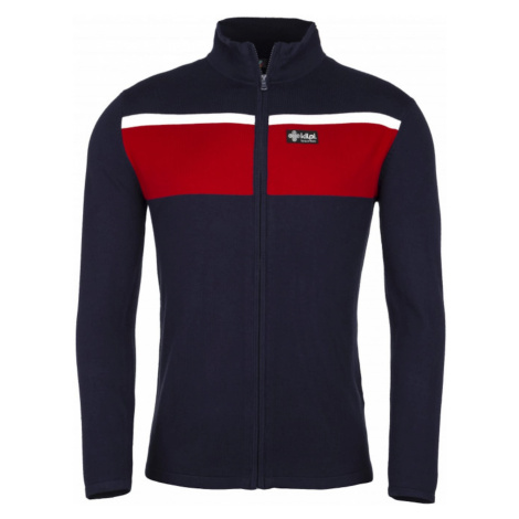 Men's sweater Cardig-m red - Kilpi