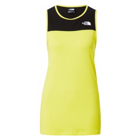 THE NORTH FACE Top sportowy żółty / czarny