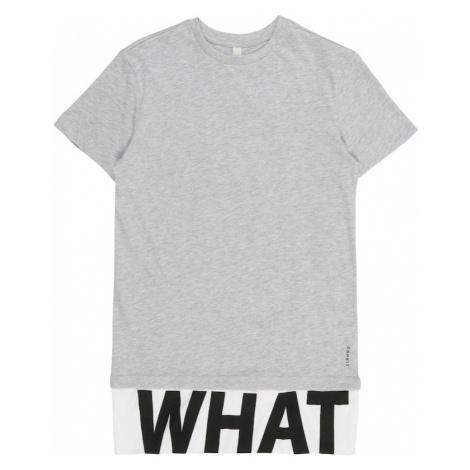 ESPRIT Koszulka nakrapiany szary / czarny / biały