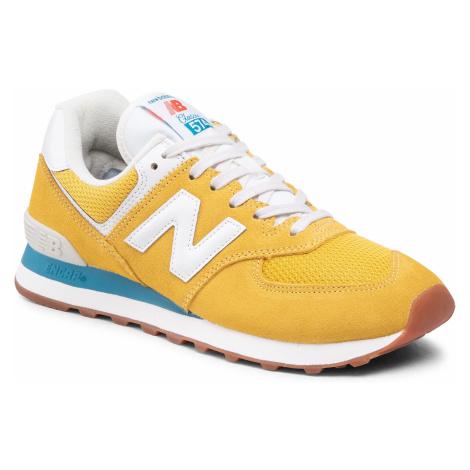 Sneakersy NEW BALANCE - ML574HB2 Żółty