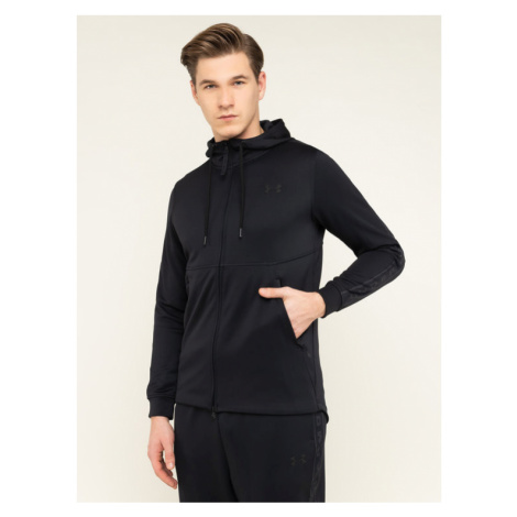 Under Armour Bluza Ua Unstoppable Track 1345543 Czarny Loose Fit