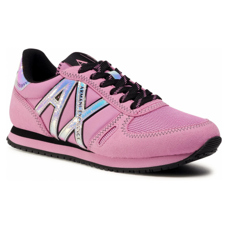 Sneakersy ARMANI EXCHANGE - XDX031 XV323 00764 Pink