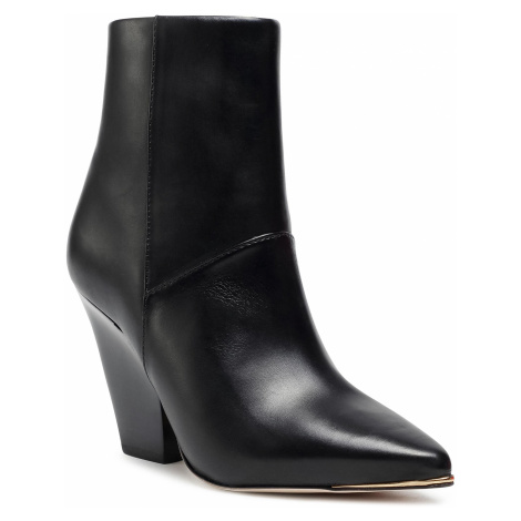 Botki TORY BURCH - Lila 90Mm Zip Up Ankle Bootie 76578 Perfect Black/Perfect Black/Perfect Black