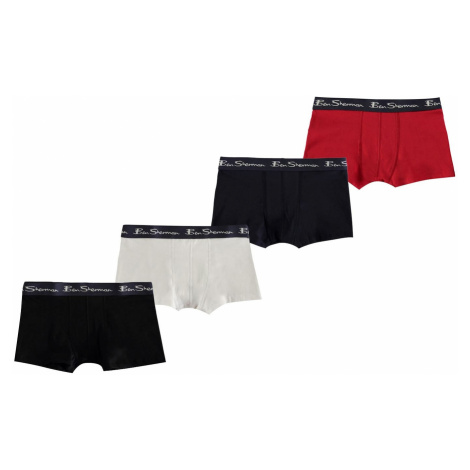 Ben Sherman Sherman 4 Pack Trunks