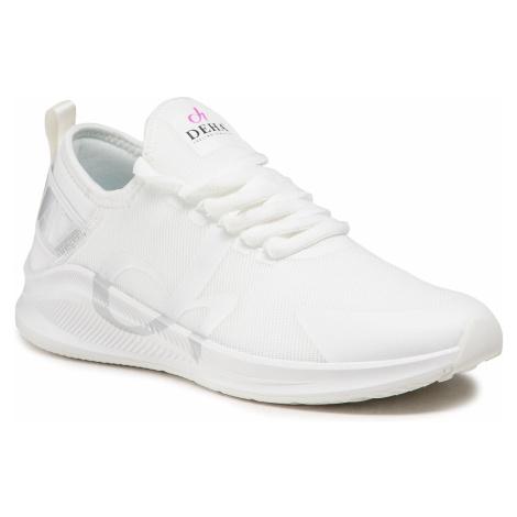 Sneakersy DEHA - B24991 Silver 14150