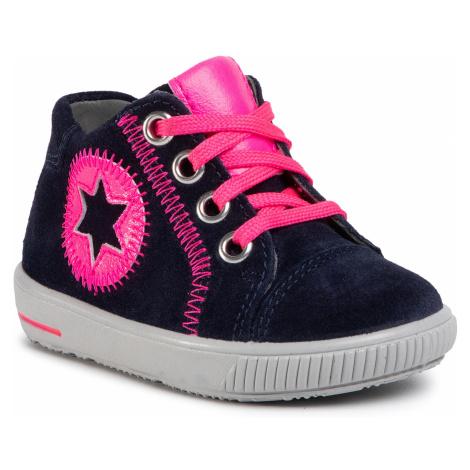 Sneakersy SUPERFIT - 1-000348-8010 Blau/Rosa