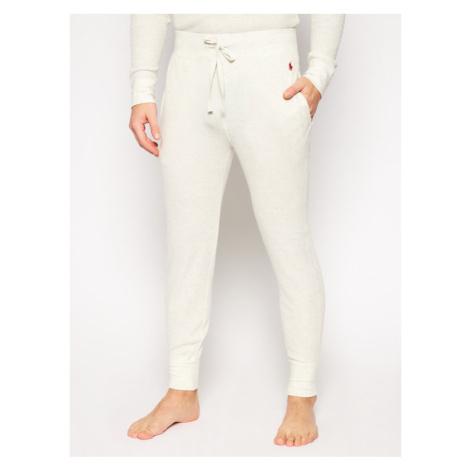 Polo Ralph Lauren Spodnie dresowe 714705227011 Beżowy Regular Fit