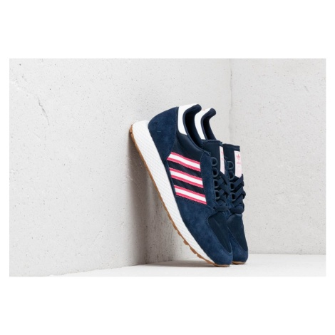 adidas Forest Grove Night Indigo/ Ftw White/ Real Pink