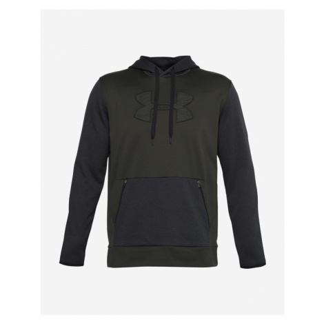 Under Armour Armour Fleece® Textured Big Logo HD Bluza Zielony