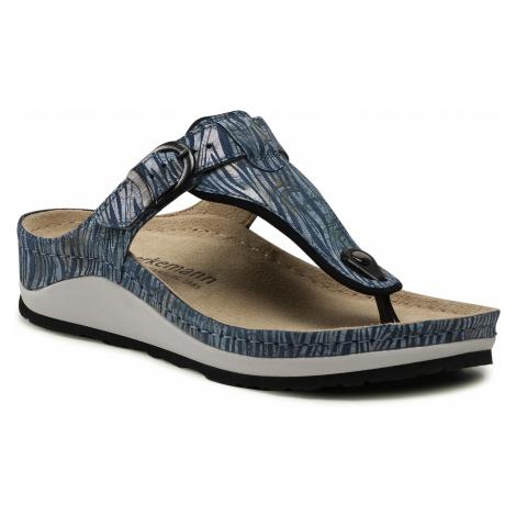 Japonki BERKEMANN - Mila 01351 Brush Stroke Jeans 356