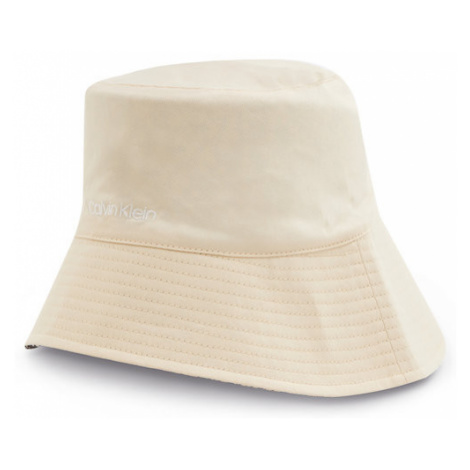 Calvin Klein Kapelusz Oversized Rev Bucket Hat K60K607982 Beżowy