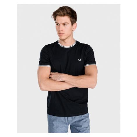Fred Perry Koszulka Czarny Niebieski