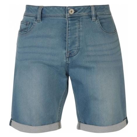 Firetrap Stretch Denim Shorts Mens