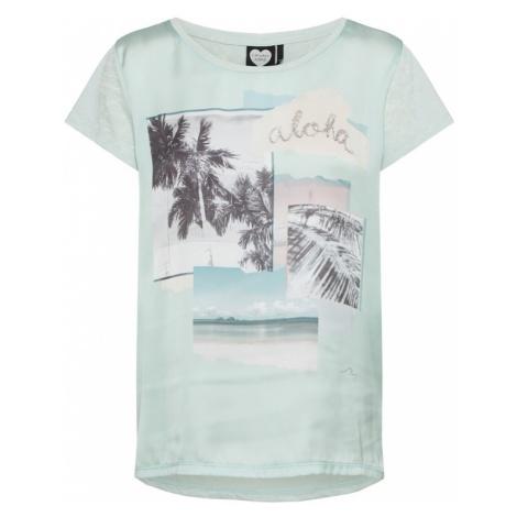 CATWALK JUNKIE Koszulka 'SUMMER BAY' miętowy
