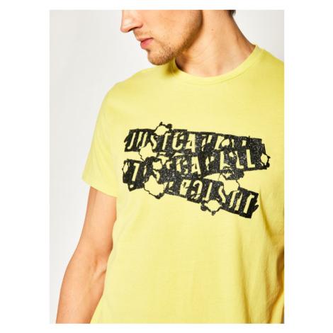 Just Cavalli T-Shirt S03GC0584 Biały Regular Fit