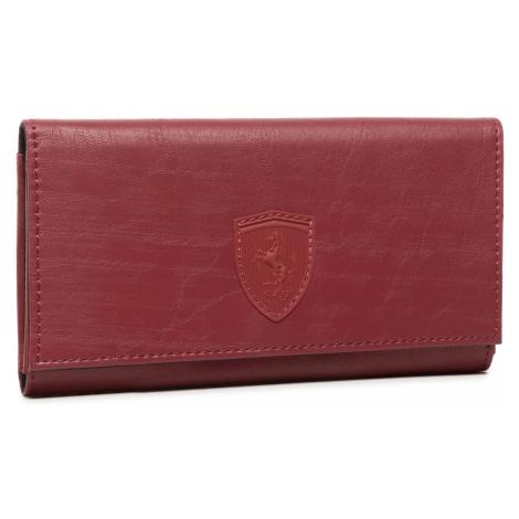 Duży Portfel Damski PUMA - Sf Ls Wallet F 053476 02 Pomegranate